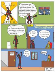 Ninja Critic Comic 3 by clinteast