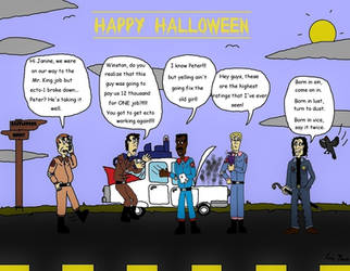 Ghostbusters by Stephen King by clinteast