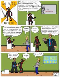 Ninja Critic Comic 5 by clinteast