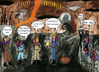 Ghostbuster's Nightmare by clinteast