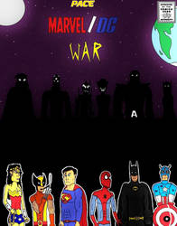 Marvel-DC Comic Cover by clinteast