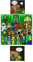 TMNT Comic by clinteast