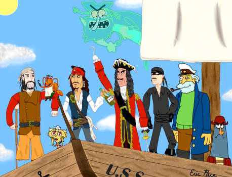 The Ultimate Pirate Crew