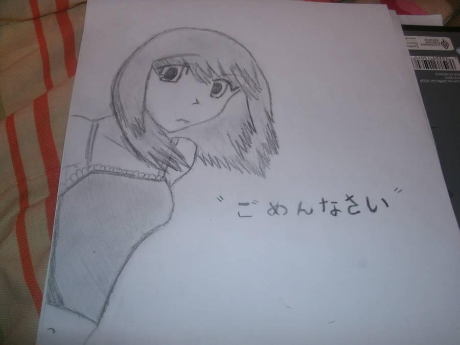 Anime Sad Face Girl By Xochisakixo On Deviantart