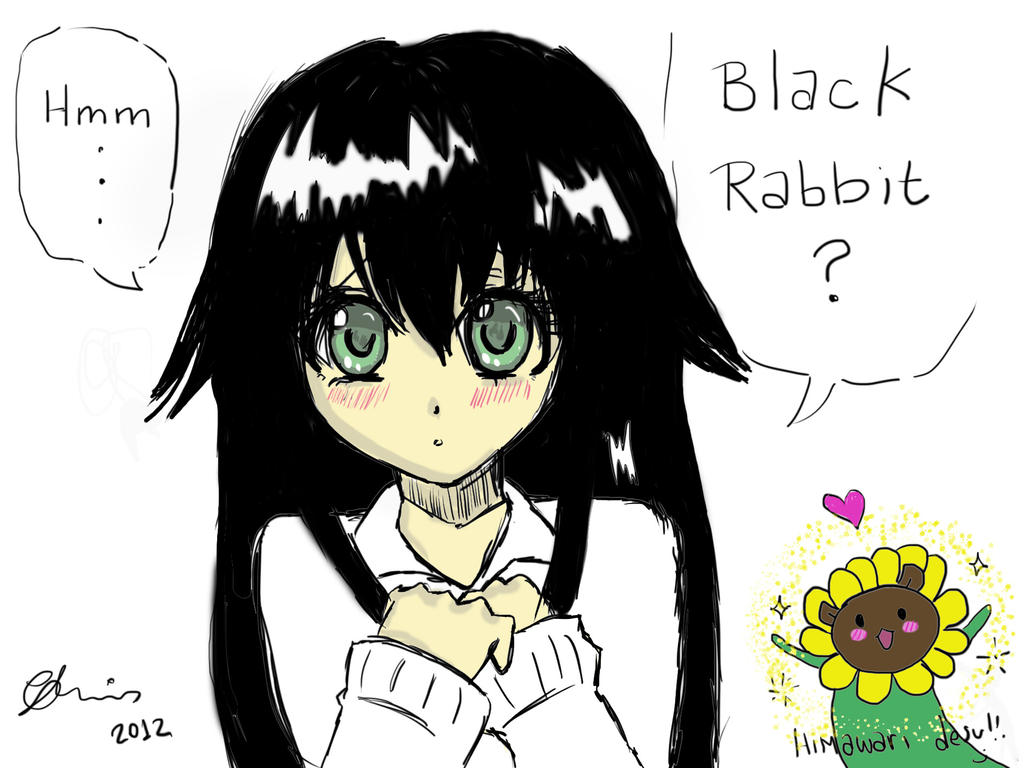 Are you Black Rabbit? by FuyuNeko0