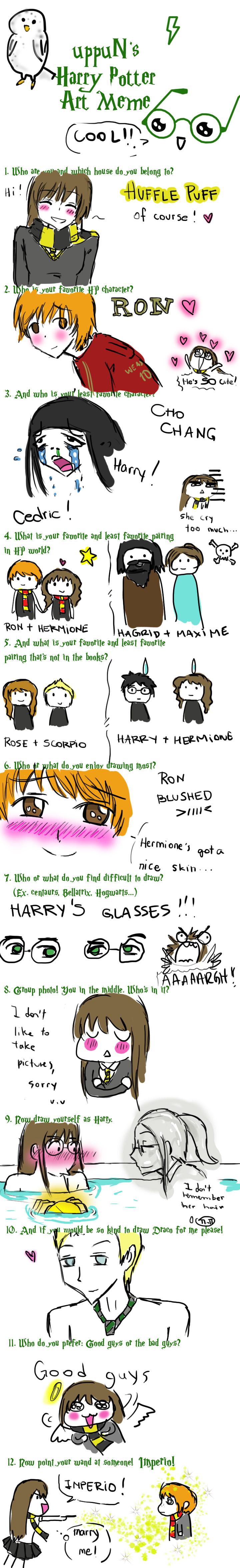 Harry Potter Meme by FuyuNeko0