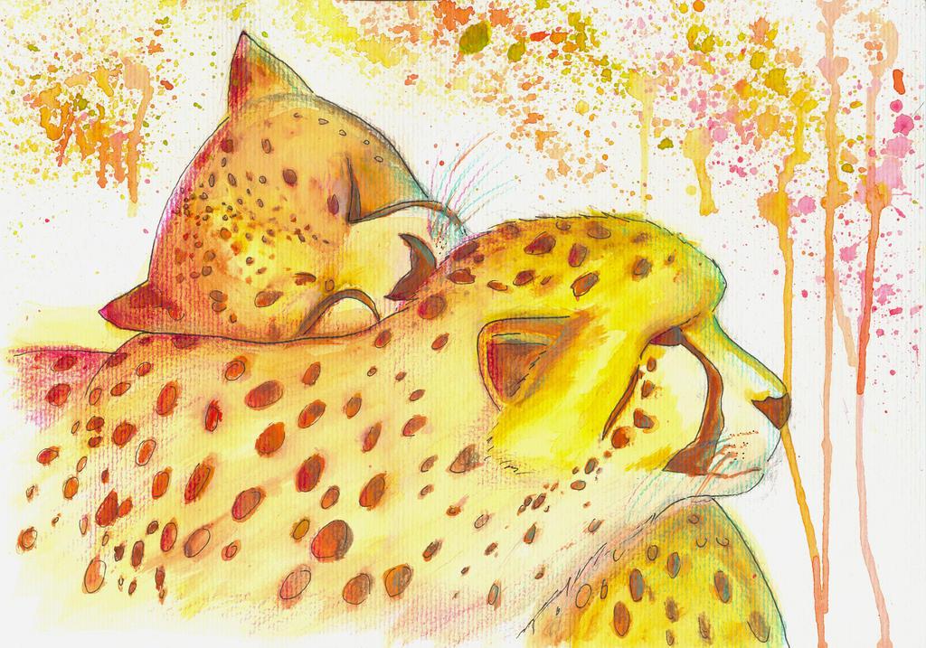 Cheetahug by FuyuNeko0