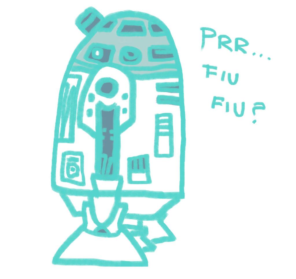 R2-D2 by FuyuNeko0