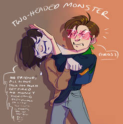 Two-Headed Monster by zopdog