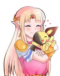 Pichu and Zelda