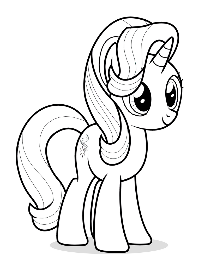 Starlight Glimmer Coloring Page