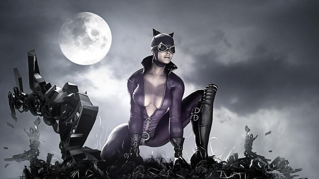 Batman Arkham City Catwoman HD Wallpaper By TheSyanArt
