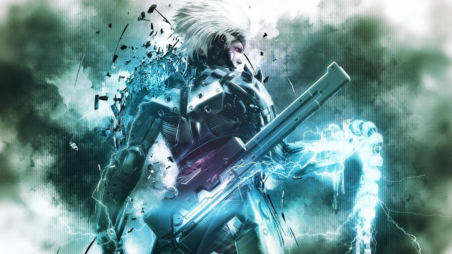 Metal Gear Rising - Raiden Wallpaper by TheSyanArt