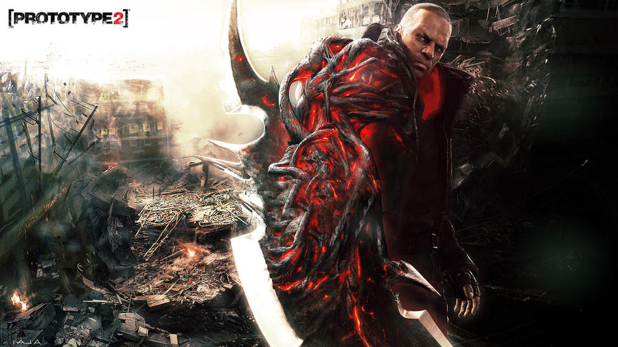 [ Prototype 2 ] - Overloaded Wallpaper by TheSyanArt