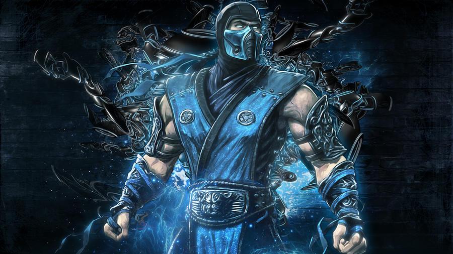 Mortal Kombat 9 - SubZero by TheSyanArt