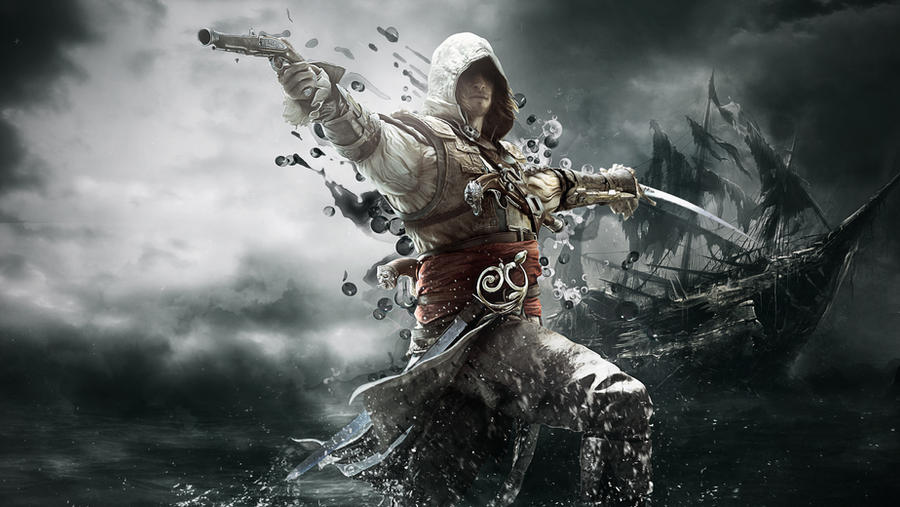 assassins 39 s creed iv black flag wallpaper 2 by thesyanart