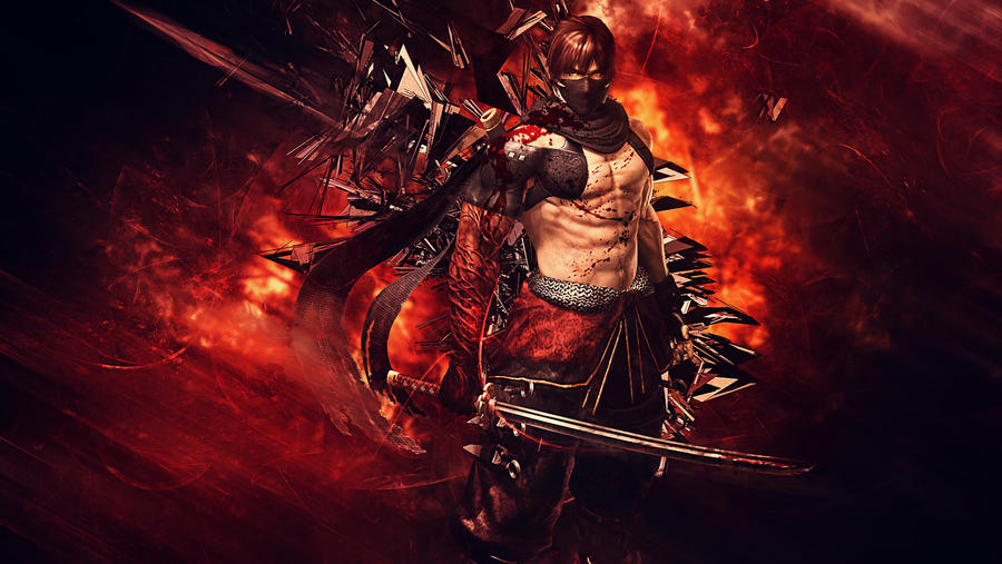 Ninja Gaiden 3 - Razor's Edge Wallpaper by TheSyanArt