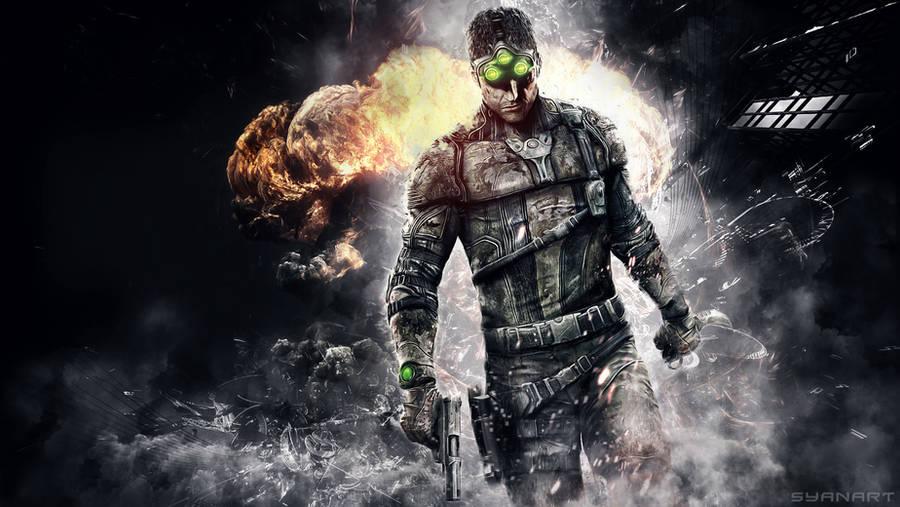 Splinter Cell - BlackList Paladin Wallpaper by TheSyanArt