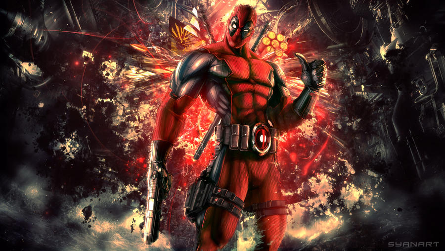 Deadpool Art Wallpaper Deviantart