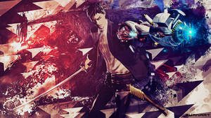 Killer Is Dead Abstract Wallpaper by TheSyanArt