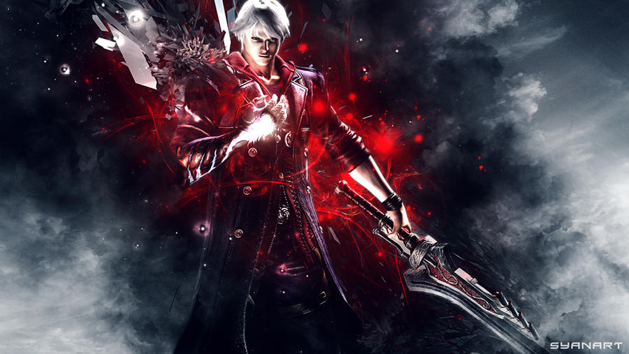 Devil may cry 4 nero wallpaper by thesyanart on deviantart devil may cry 4 nero wallpaper by thesyanart voltagebd Choice Image