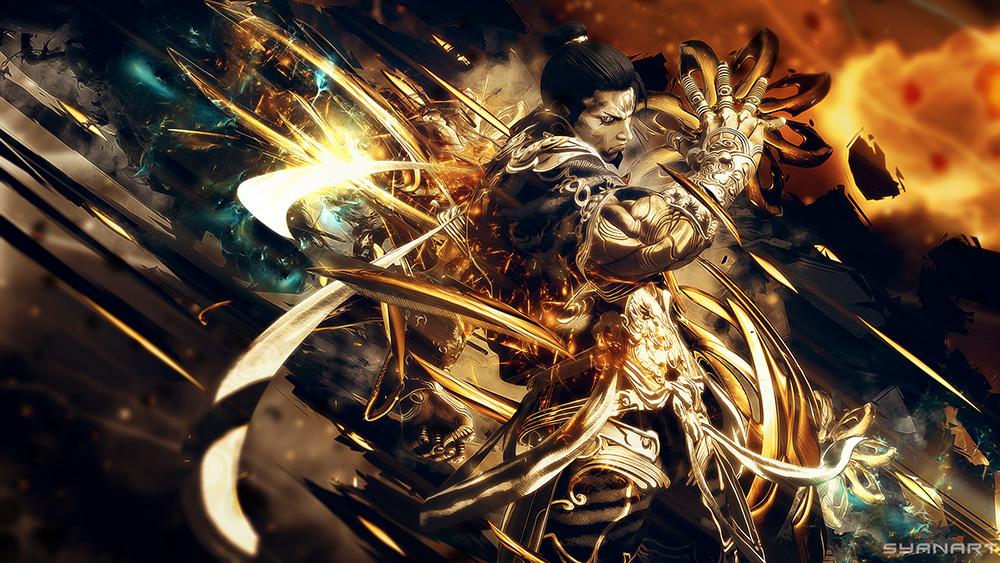 Asura's Wrath - Yasha 4K Wallpaper by TheSyanArt