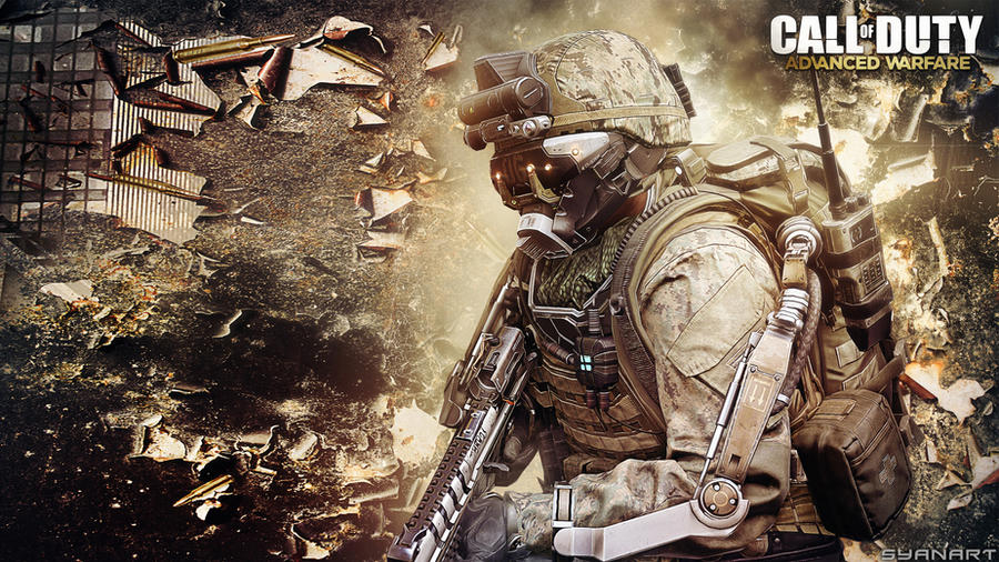 Call of Duty Advanced Warfare Wallpaper by TheSyanArt
