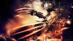 Ninja Gaiden Sigma 2 - Claws by TheSyanArt