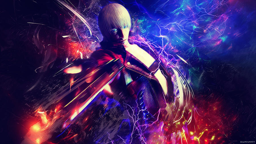 Devil May Cry 3 Dante Power 4k Wallpaper By TheSyanArt On