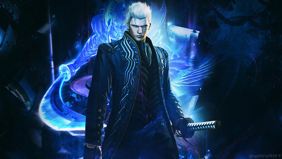 Devil may cry 4 se vergil wallpaper by thesyanart on deviantart devil may cry 4 se vergil wallpaper by thesyanart voltagebd Choice Image