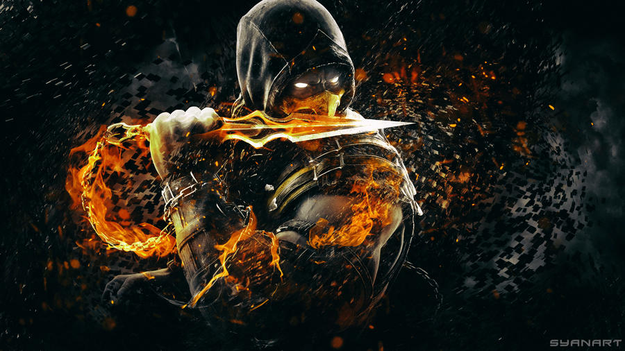 Mortal kombat x scorpion wallpaper by thesyanart on deviantart mortal kombat x scorpion wallpaper by thesyanart voltagebd Choice Image