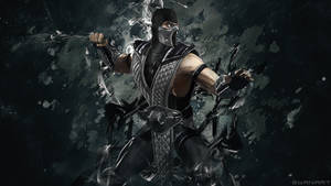 Mortal Kombat Smoke wallpaper by TheSyanArt