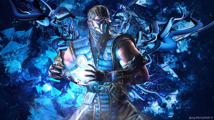Mortal Kombat Sub Zero Wallpaper By TheSyanArt