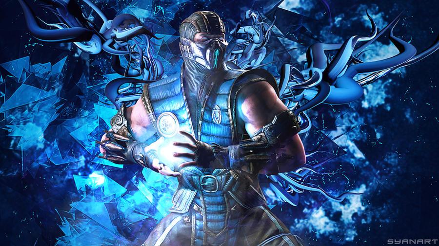 Mortal Kombat Sub Zero Wallpaper By TheSyanArt On DeviantArt