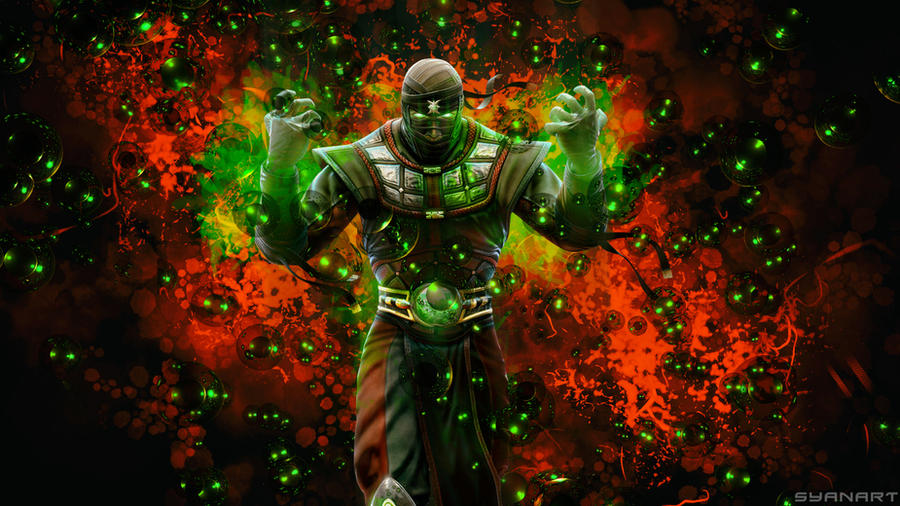 mortal kombat ermac wallpaper by thesyanart on deviantart