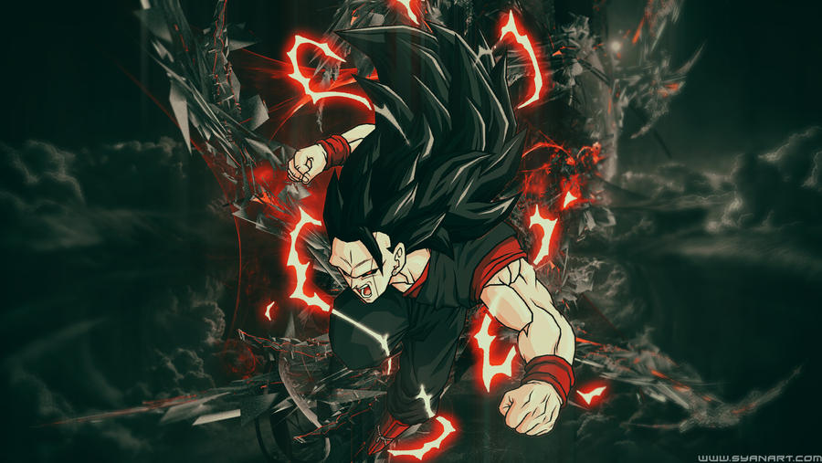 200+ Wallpaper Black Goku HD