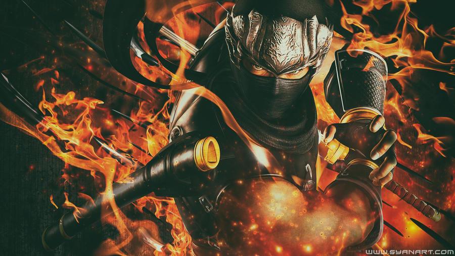 Ninja Gaiden Sigma Ryu Hayabusa Wallpaper By Thesyanart On