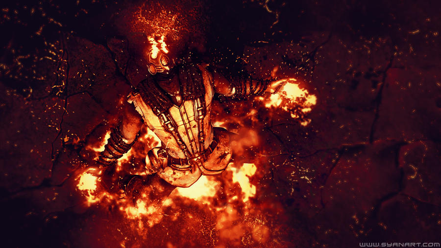 Mortal Kombat X Scorpion Wins Wallpaper By TheSyanArt