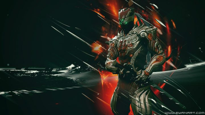 Warframe ASH Koga 1080p Wallpaper by TheSyanArt ...