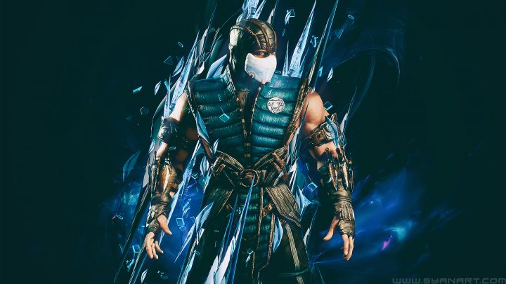 Mortal Kombat XL Subzero Ice Master Wallpaper By TheSyanArt