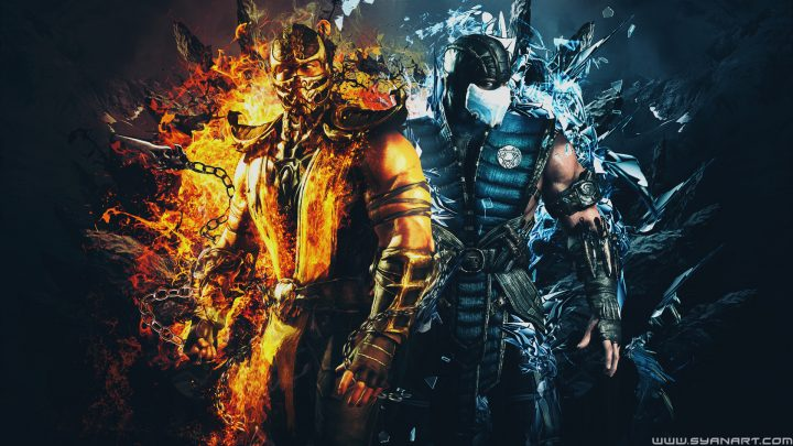 Mortal Kombat XL Scorpion Vs SubZero Wallpaper By TheSyanArt