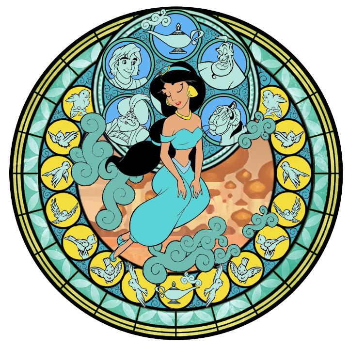 Jasmine's StainedGlassWindow by Akili-Amethyst