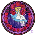 Stained Glass: Alice
