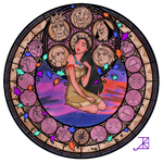 Stained Glass: Pocahontas