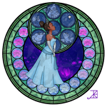 Stained Glass: Tiana