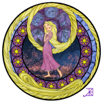 Stained Glass: Rapunzel