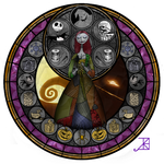 Stained Glass: Sally