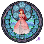 Ariel Stained Glass