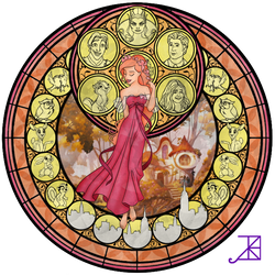 Stained Glass: Giselle
