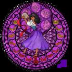 Stained Glass: Esmeralda